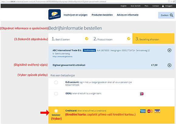 Jak najít vlastníka nizozemské (holandské) firmy? - obr11