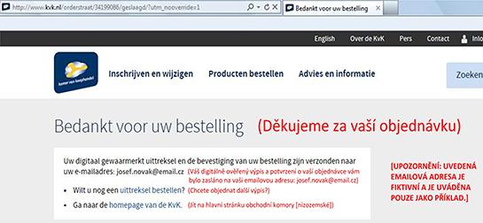 Jak najít vlastníka nizozemské (holandské) firmy? - obr16