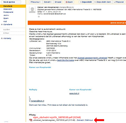 Jak najít vlastníka nizozemské (holandské) firmy? - obr18