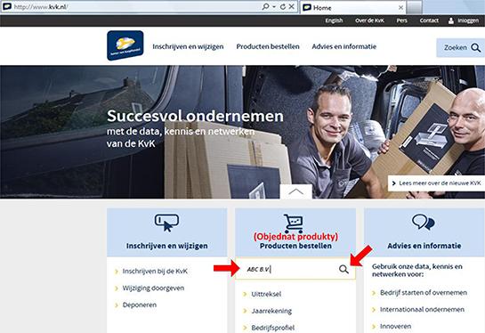 Jak najít vlastníka nizozemské (holandské) firmy? - obr2