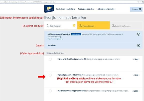 Jak najít vlastníka nizozemské (holandské) firmy? - obr7