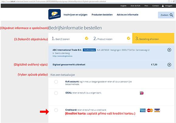 Jak najít vlastníka nizozemské (holandské) firmy? - obr10